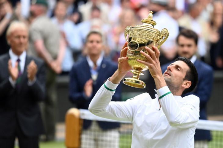 Wimbledon: Djokovic sebut dirinya yang terbaik