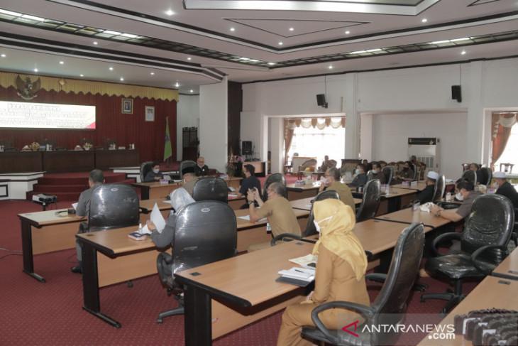 DPRD dan Pemkab HSS bahas jadwal Raperda Pertanggungjawaban APBD 2020