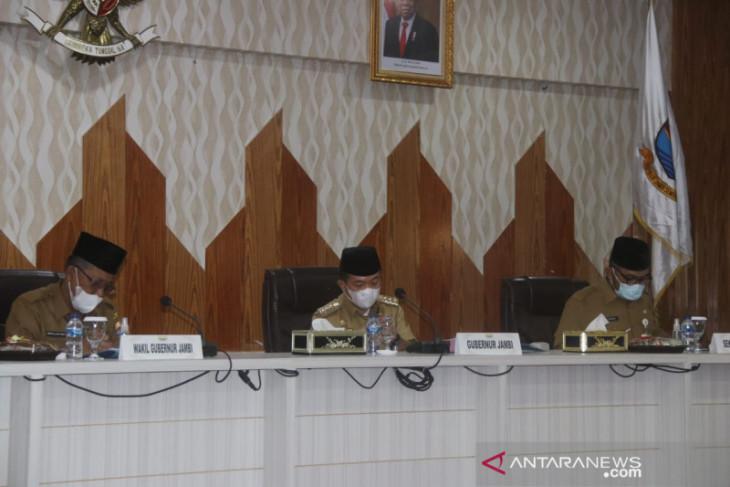 Gubernur Jambi tegaskan OPD maksimalkan program dan serapan anggaran