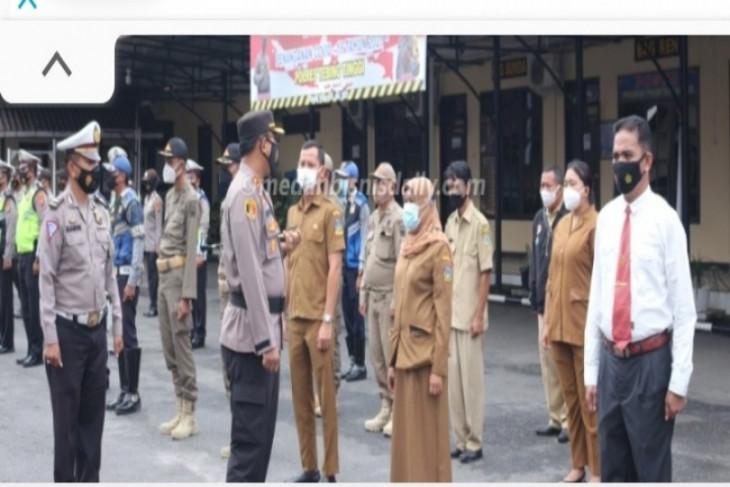 Operasi Aman Nusa II COVID-19 Tebing Tinggi buat tiga  pos penyekatan