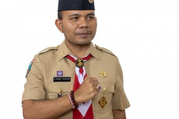 BPBD Bali minta Pramuka jadi teladan penerapan protokol kesehatan