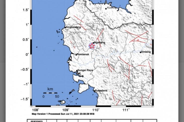 BMKG : Gempa di Landak dipicu aktivitas sesar aktif