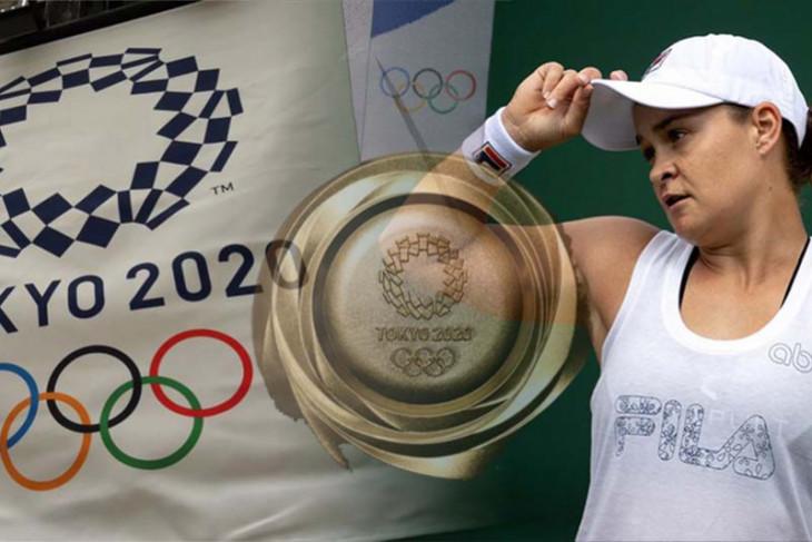 Barty targetkan emas di Olimpiade Tokyo setelah kemenangan Wimbledon