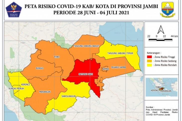 Tiga pasien COVID-19 di Jambi meninggal dunia