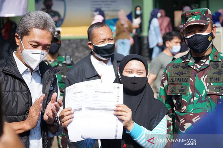 Vaksinasi di Kota Bogor terus berlanjut