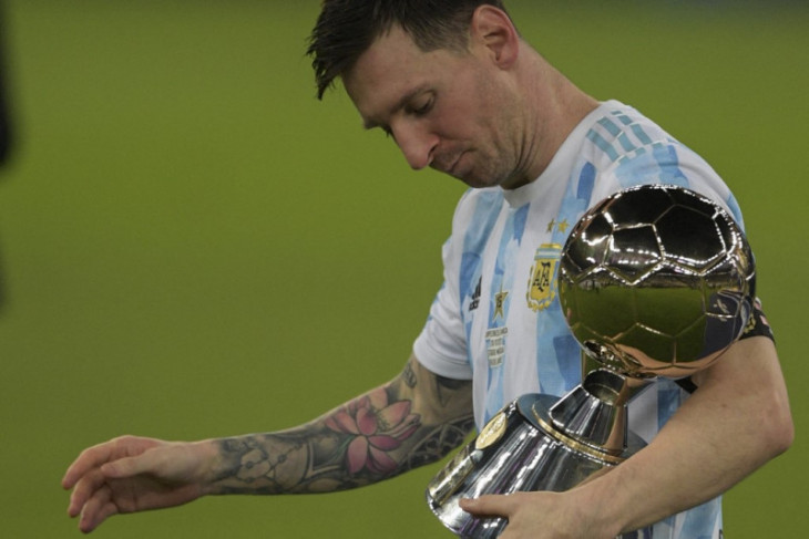 Messi dedikasikan Copa untuk keluarga, negara dan Maradona