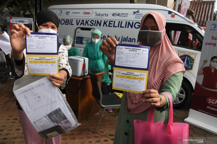 Jakarta govt pushes for mobile vaccinations to cover more participants
