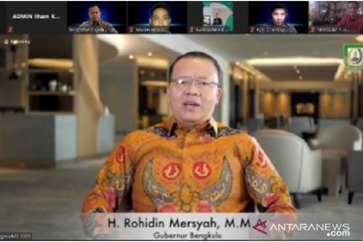 Gubernur Bengkulu dukung program literasi digital Kominfo