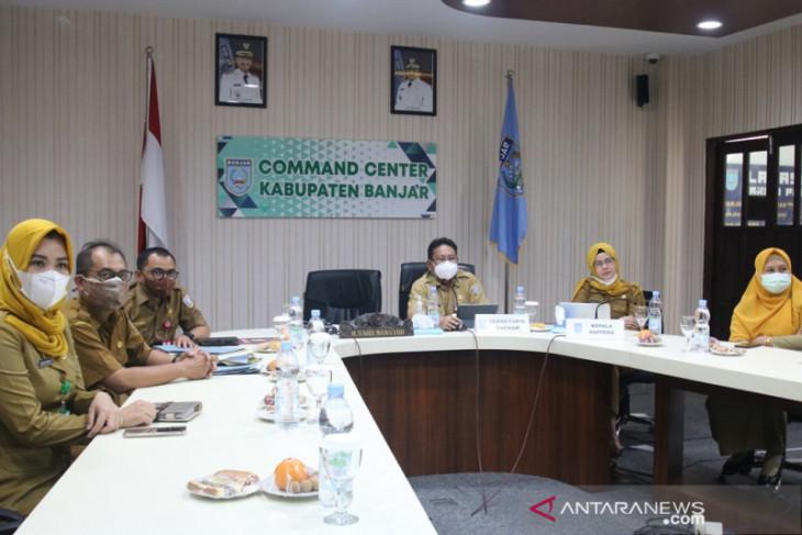 Bupati Banjar presentasikan inovasi Jempol Pelanduk dan Gebraks