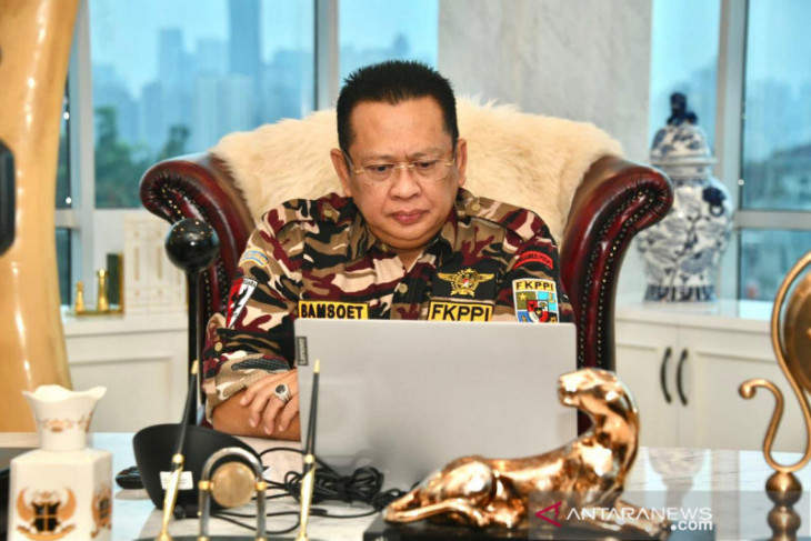 Ketua MPR apresiasi Polri tindak penimbun obat terapi penyembuhan pasien COVID-19