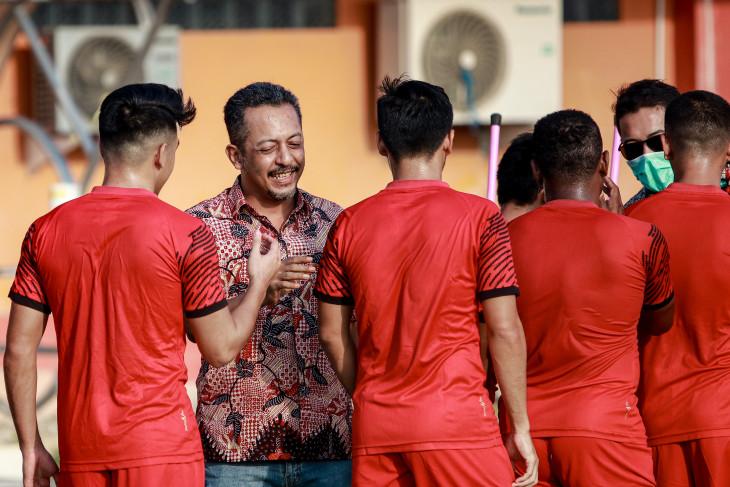Kompetisi belum pasti, Madura United belum putuskan jadwal latihan bersama