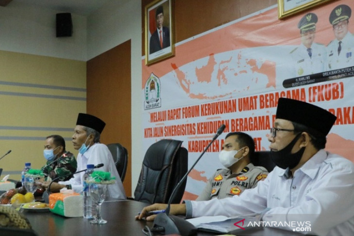 Pemkab Aceh Barat tingkatkan peran FKUB cegah potensi konflik umat beragama