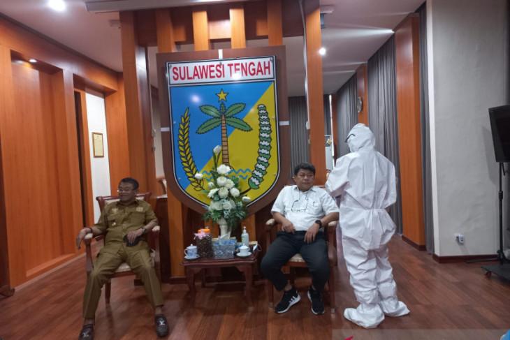 Gubernur Sulteng positif COVID-19, kantor gubernur disterilisasi