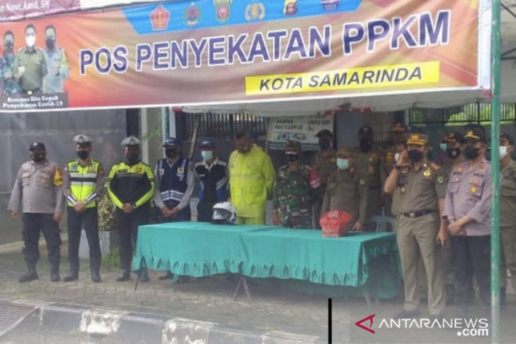 Kota Samarinda dan Kabupaten Kutai Timur masuk wilayah PPKM Level 2