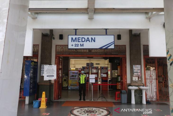 KAI Sumut batalkan  keberangkatan 140 penumpang selama PPKM Darurat