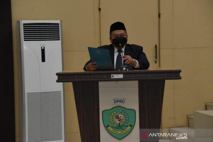 DPRD Tapsel setuju Ranperda APBD 2020 jadi Perda