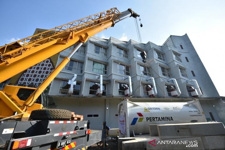 Pertamina provides 20-ton oxygen tank to Jakarta Hajj Dormitory