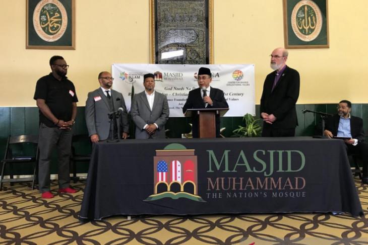 25 tokoh agama dan politik AS dukung Seruan Masjid Muhammad