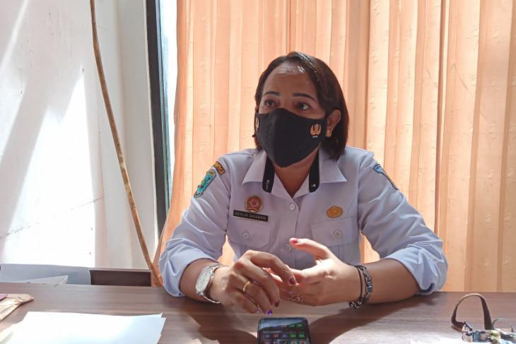 BPBD kota Sorong bagikan masker gratis kepada warga dimasa PPKM Darurat