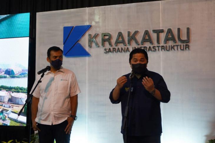 Menteri BUMN Erick Thohir yakin KSI dapat optimalkan kinerja Krakatau Steel