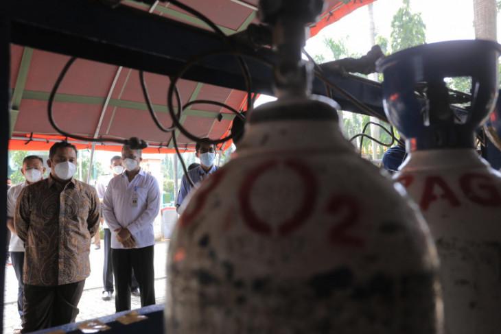 Pemkot Tangerang terima bantuan tabung gas oksigen untuk faskes