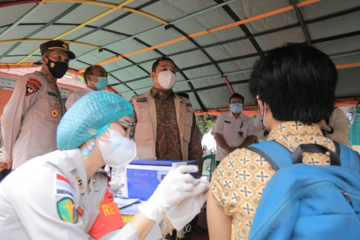 1.000 pelajar di Kota Tangerang ikuti vaksinasi
