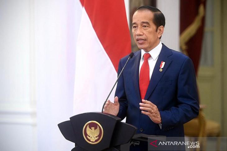 Olimpiade Tokyo, Presiden Jokowi ucapkan selamat kepada lifter Windy Cantika