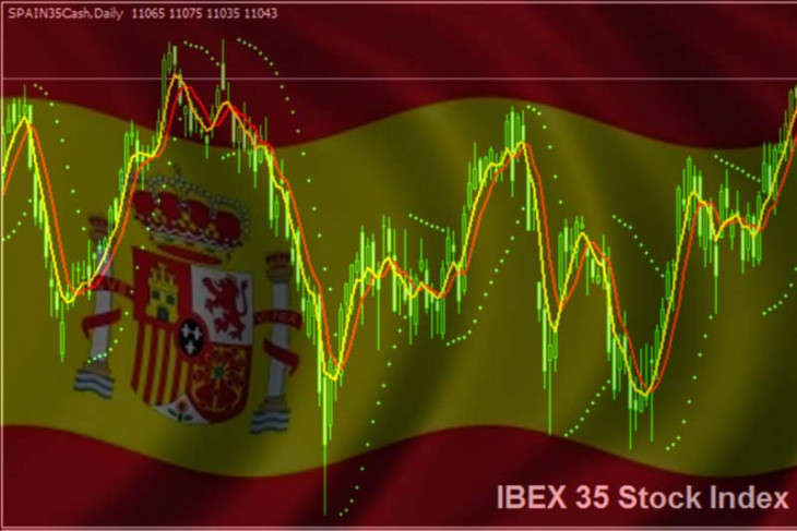 Saham Spanyol ditutup di zona merah
