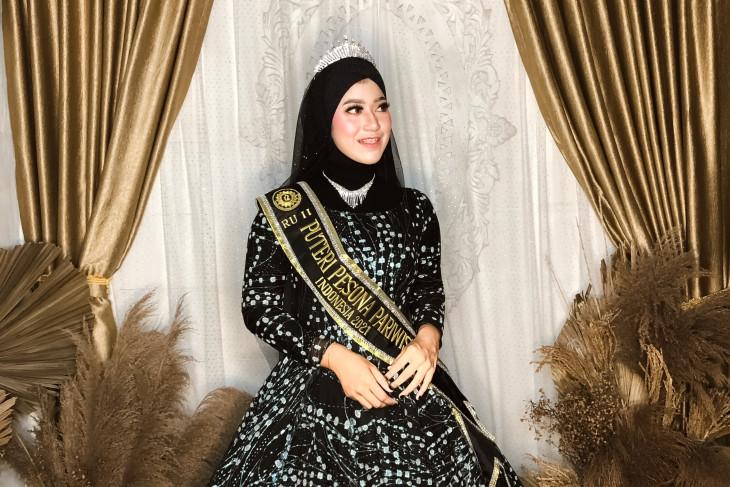 Mahasiswa FHUP juara kedua Puteri Pesona Pariwisata Indonesia 2021