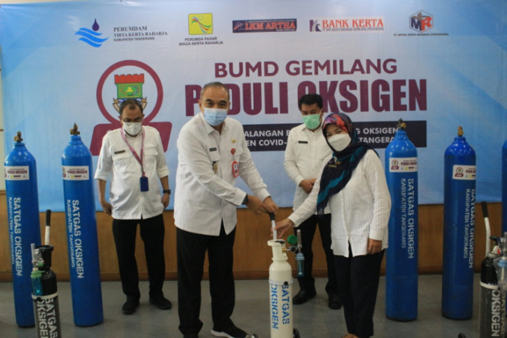 Kabupaten Tangerang bentuk satgas pengawasan ketersediaan oksigen medis