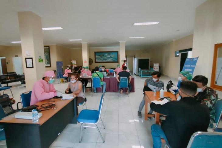 COVID-19: 2,300 vaccinated at Bali's I Gusti Ngurah Rai Air Force Base