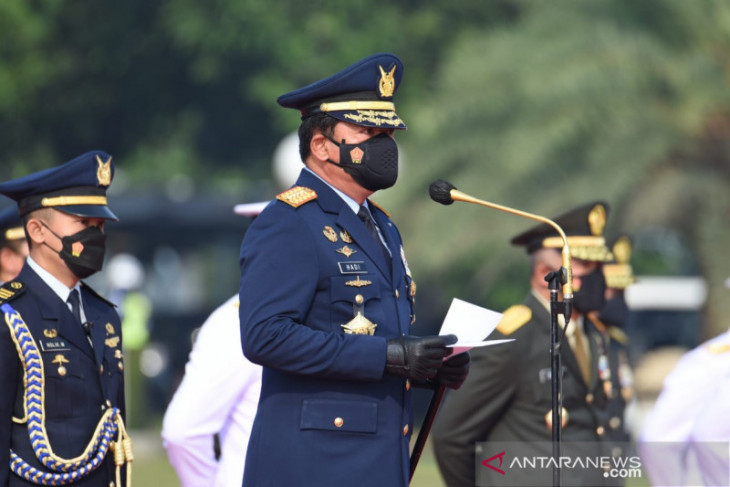 Panglima TNI: Perwira harus siap hadapi ancaman saat pandemi COVID-19