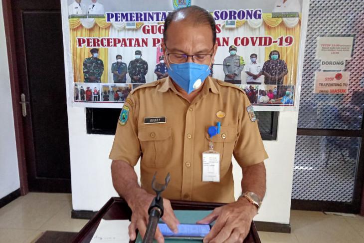 Di Kota Sorong tambah 302 pasien dan dua meninggal dunia