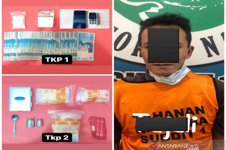 Polisi Kalsel ungkap modus sabu-sabu dikemas plastik beras bansos