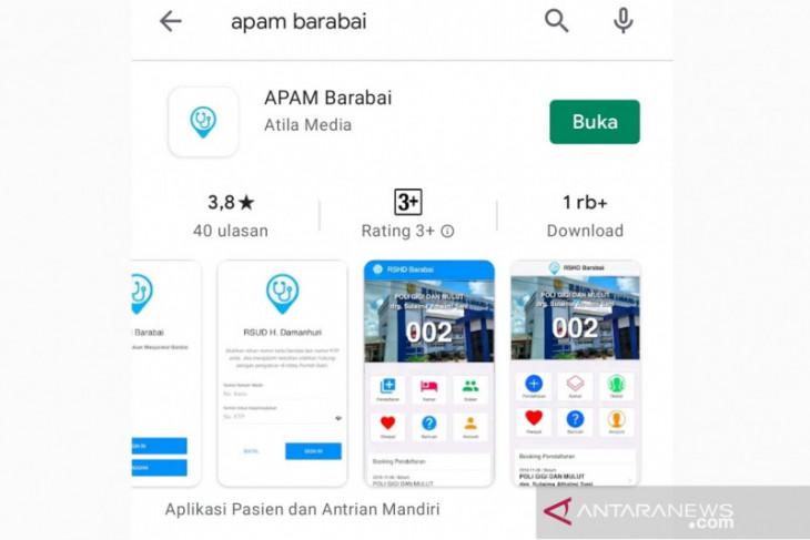 Masuk Top 99, Aplikasi pelayanan RSHD 'APAM Barabai'  dikeluhkan