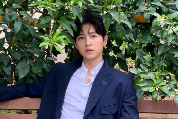 Selesai isoman COVID-19, Song Joong Ki kembali syuting