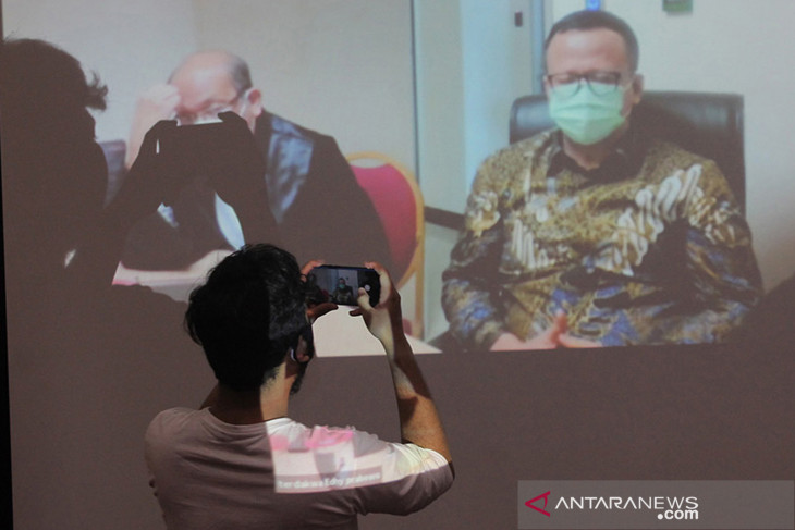 Hakim sebut Edhy Prabowo beri arahan terkait Fahri Hamzah-Azis Syamsuddin