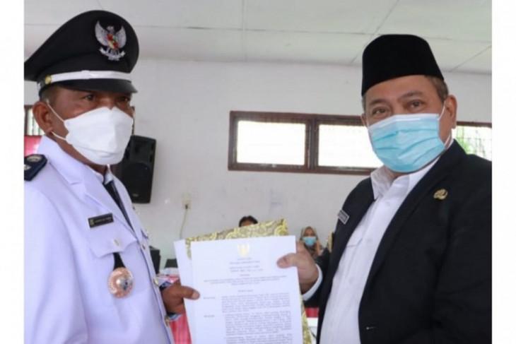 Kornelius Tamba dilantik jadi Kades PAW Pegagan Julu III
