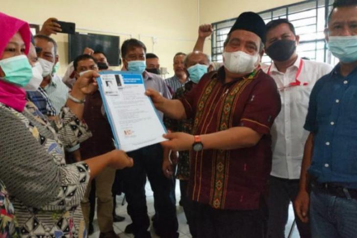 Hermansjah mendaftar sebagai calon Ketua PWI Sumut