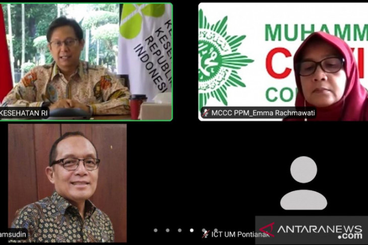 Menkes apresiasi vaksinasi lintas agama yang digelar Muhammadiyah Kalbar