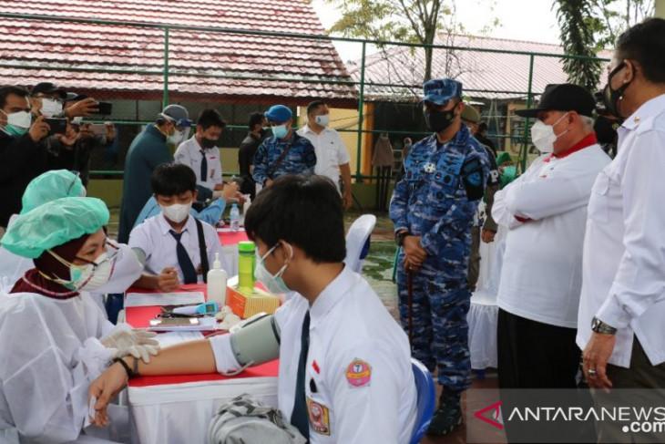 Siswa dua sekolah di Balikpapan  ikut program vaksin pelajar