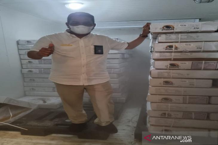 Bulog Sumatera Utara: Stok daging kerbau beku  tinggal 1,60 ton