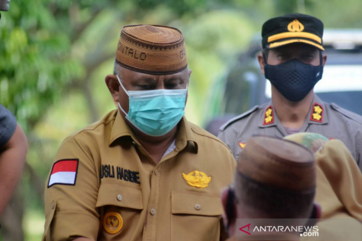 Gubernur Gorontalo larang pasien COVID-19 isolasi mandiri