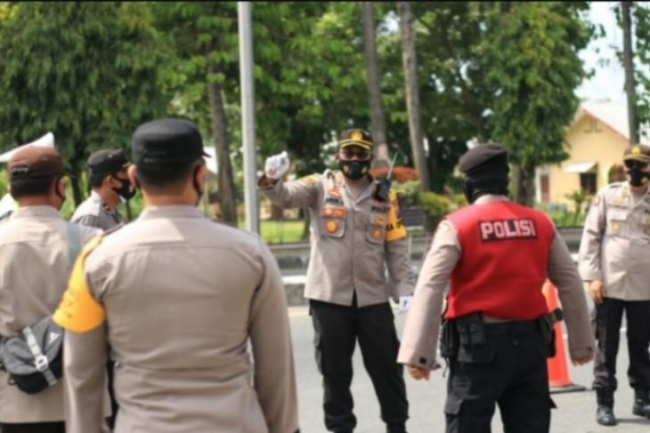 Kapolres Tebing Tinggi: Personel penjaga penyekatan bertindak tegas