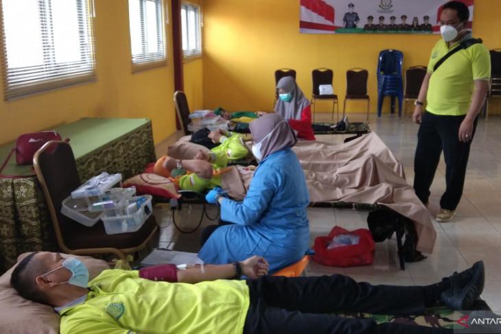 Kejari Banjar gelar donor darah semarakan HBA