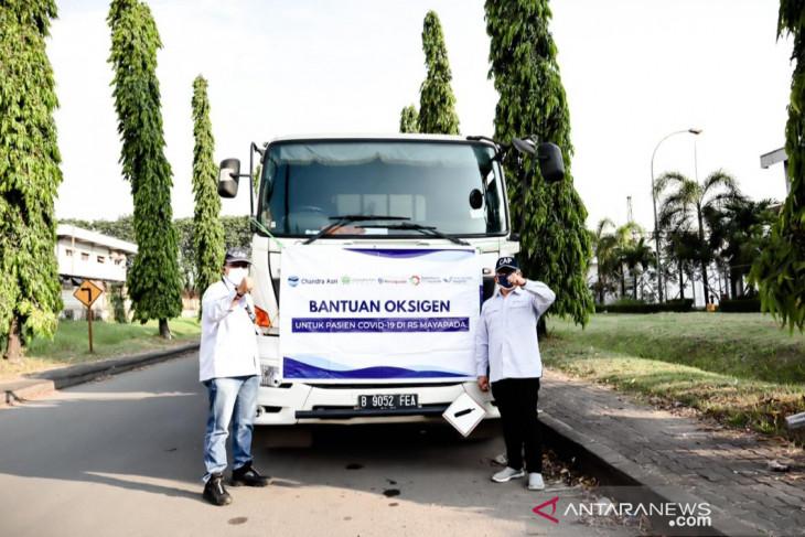 Chandra Asri salurkan bantuan 210 ton oksigen cair bantu penanganan pasien COVID-19
