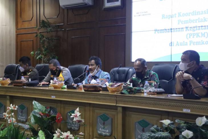 Wali Kota Binjai bahas 25 titik keramaian penegakan PPKM Mikro