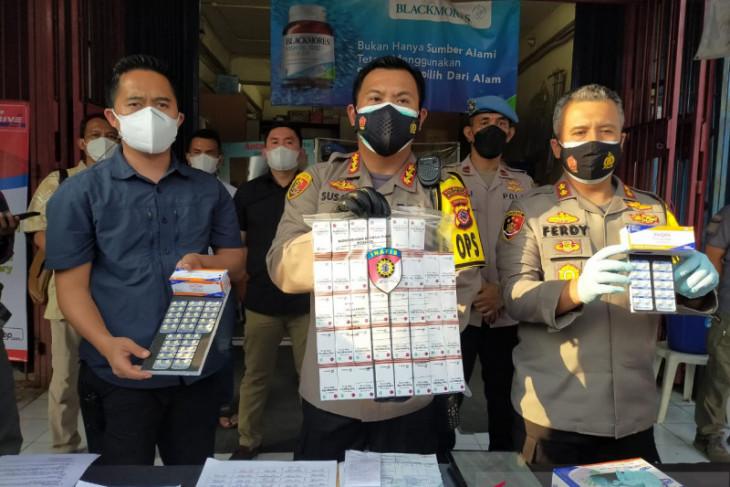 Polresta Bogor Kota temukan tiga apotik yang jual obat COVID-19 di atas HET