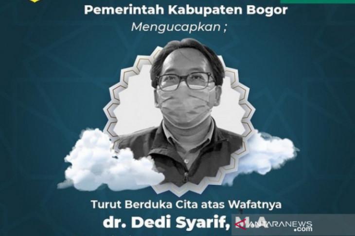Sekretaris Dinkes Kabupaten Bogor berpulang akibat terpapar COVID-19
