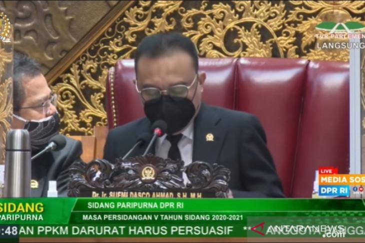 Dasco: Menhan Prabowo kerja